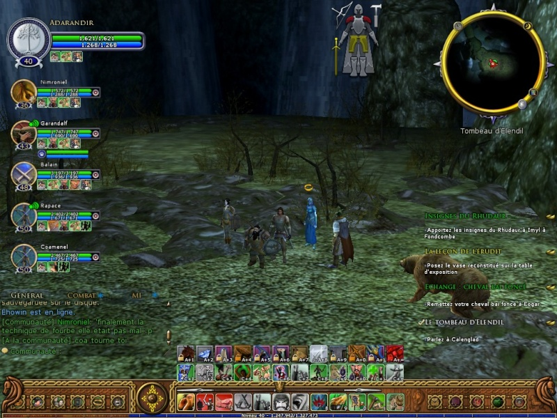 Le Tombeau d'Elendil (screen) Screen25