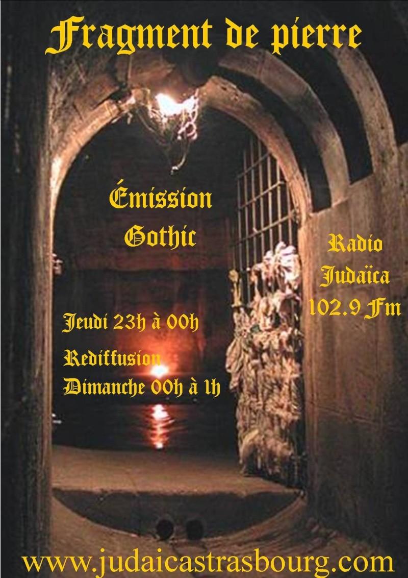 émission gothic sur radio judaica 102.9 fm Affich14