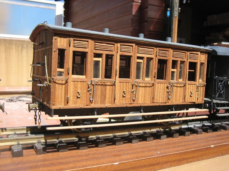 Vagó de construcció anglesa del Tren d'Olot (FFCC de la Terrassa) 110