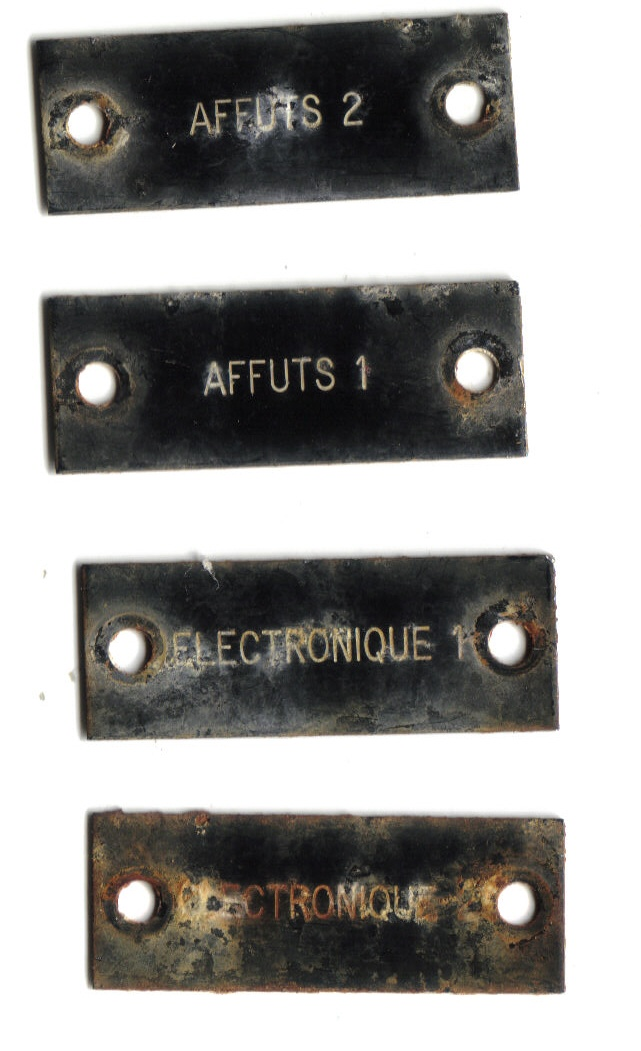 Pour les amateurs de la Batterie des ARROS à SOULAC Plaque10