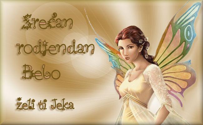 Bebo, Bebice... srecan Ti rodjeni dan :) Beba10