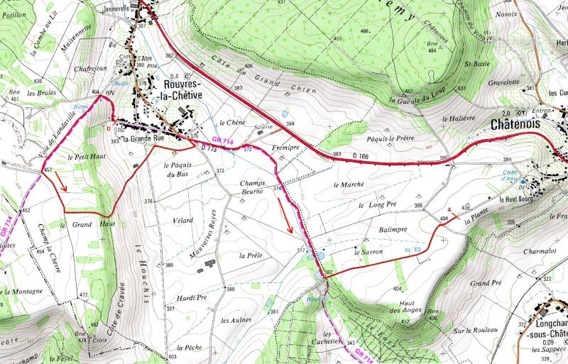 Rallye Mouzon-Frézelle 2007 Carte_10
