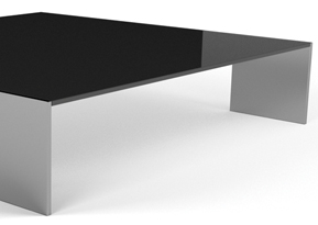 [Table basse] Team Matty Glass Coffee Table by M. ROSSATO 0122