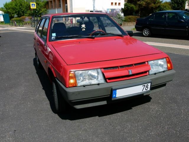 """La Samara rouge de """"Samara 78"""" P1030610"""