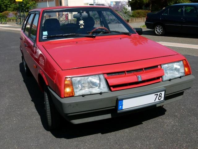 """La Samara rouge de """"Samara 78"""" P1030611"""