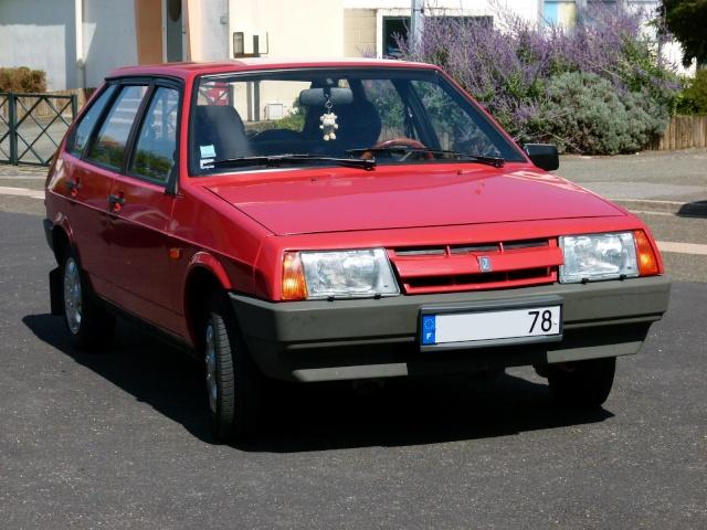 """La Samara rouge de """"Samara 78"""" P1030710"""