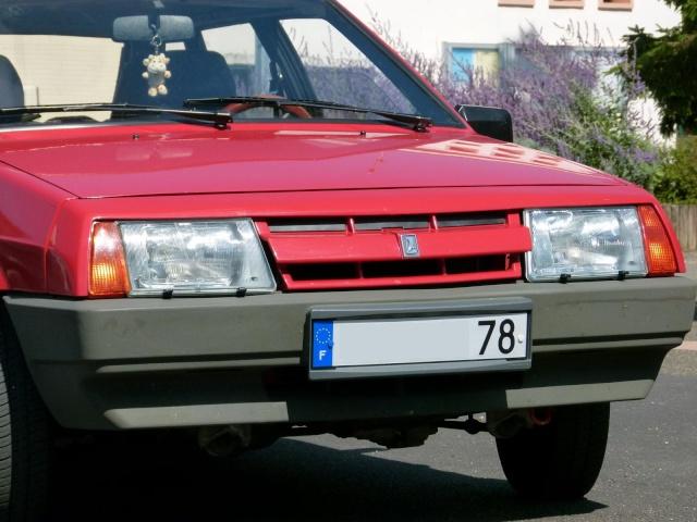 """La Samara rouge de """"Samara 78"""" P1030711"""
