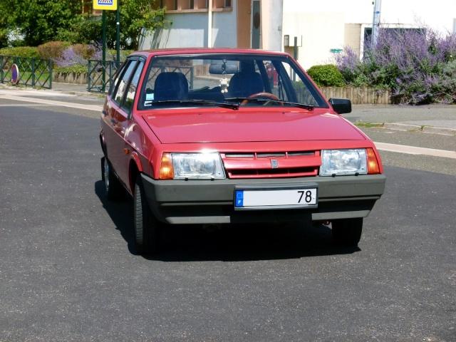 """La Samara rouge de """"Samara 78"""" P1030712"""