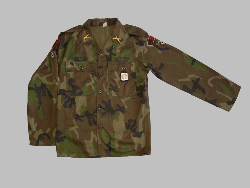 WOODLAND CAMOUFLAGE uniform 100_9810