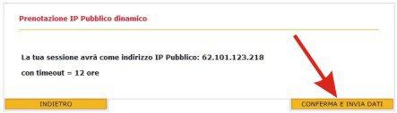 Configurare l'IP pubblico x il Broadcast con Fast Web Image111