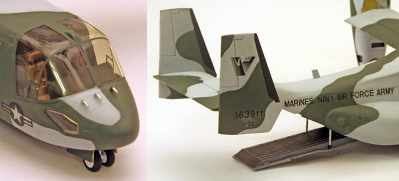 """Bell/Boeing V-22 """"Osprey"""" [1:72 - Italeri] Detail10"""