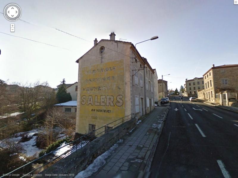 STREET VIEW : Vieilles publicités murales - Page 12 Salers10