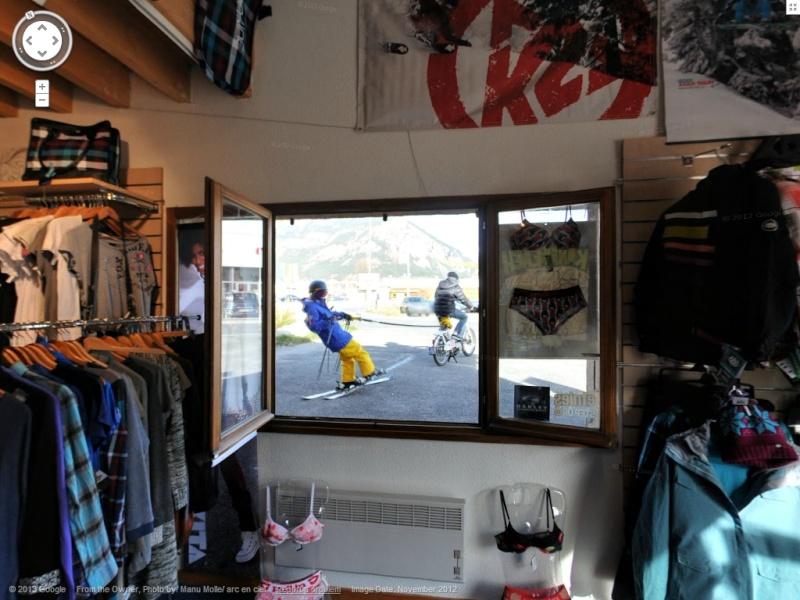 STREET VIEW: Batiments, les intérieurs Ski10