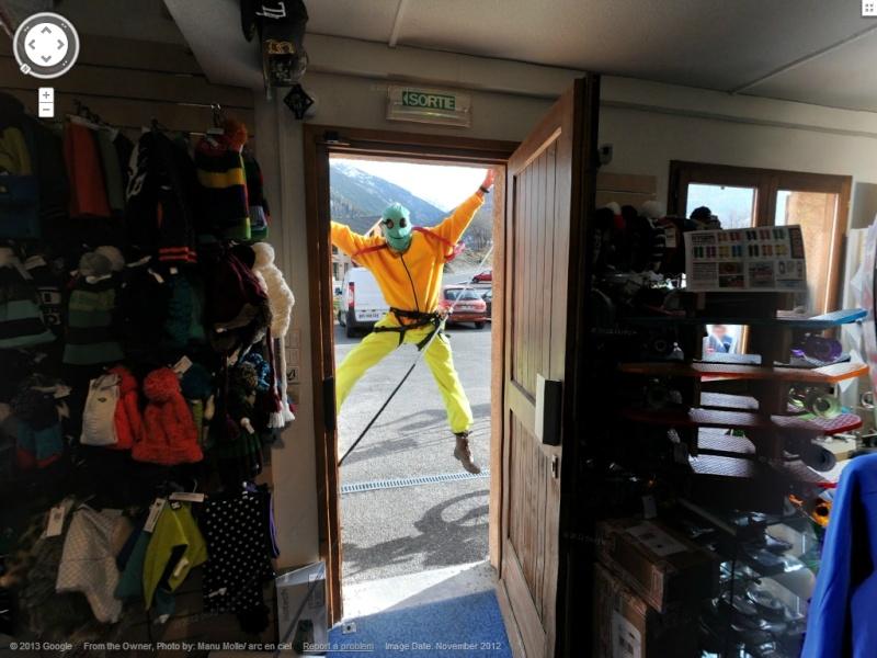 STREET VIEW: Batiments, les intérieurs Ski510