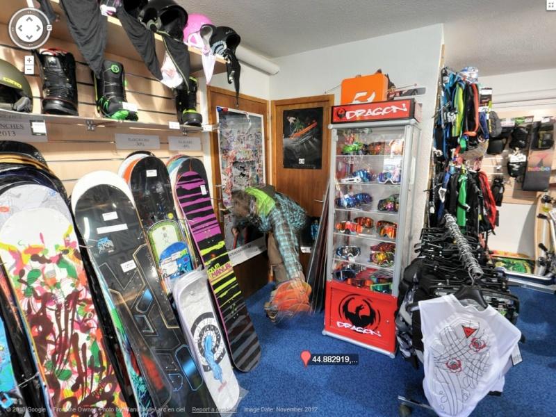 STREET VIEW: Batiments, les intérieurs Ski610