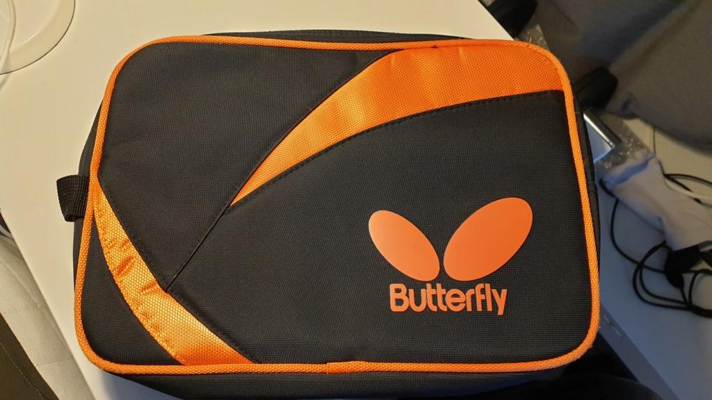 Housse double Butterfly Noir/orange 20190216