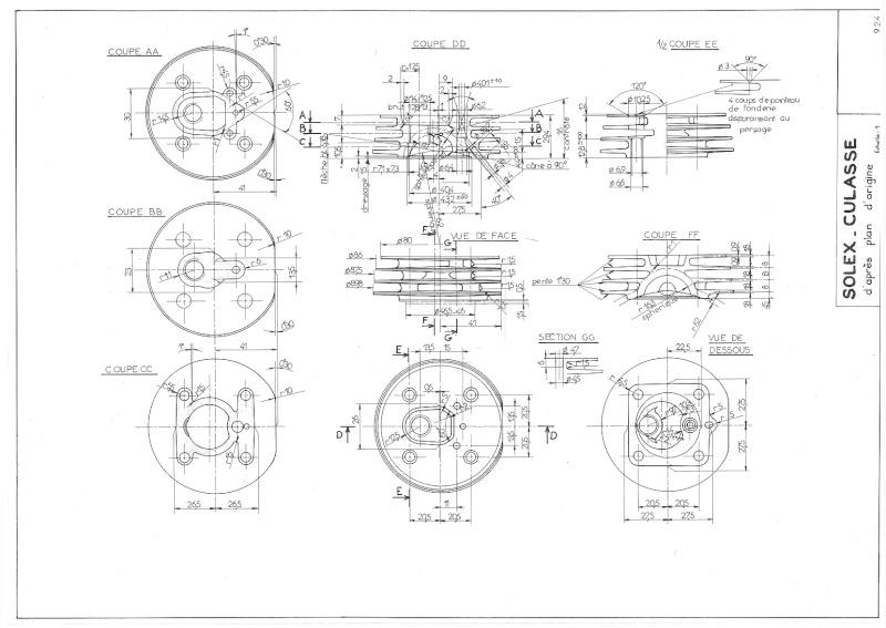 Plans, éclatés, guide de réglage et pubs du SOLEX 3800 92410
