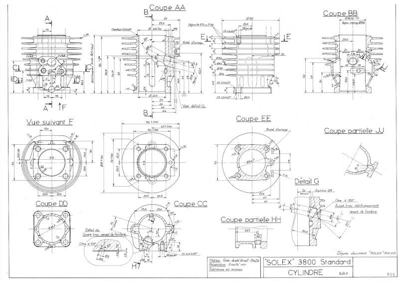 Plans, éclatés, guide de réglage et pubs du SOLEX 3800 92510