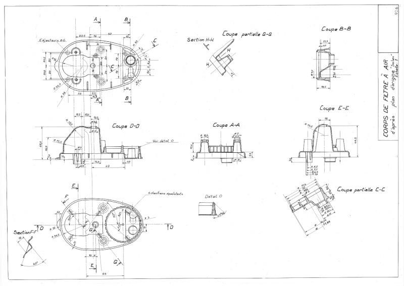 Plans, éclatés, guide de réglage et pubs du SOLEX 3800 92610