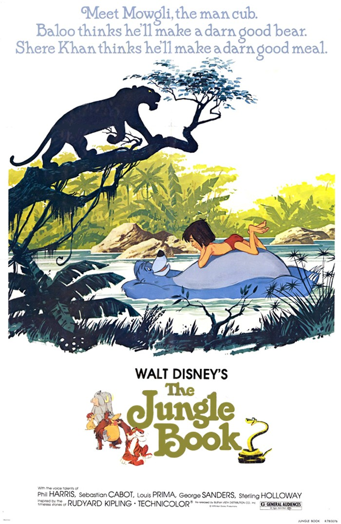 [Walt Disney] Le Livre de la Jungle (1967) 1967-j12