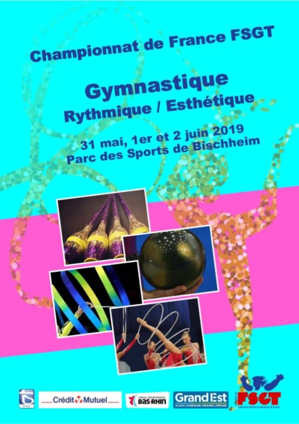 Championnats de France FSGT 2019 Affich10
