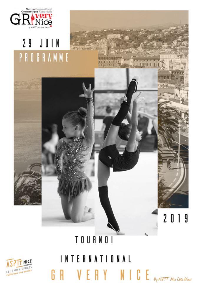 VERY NICE, 2ème tournoi international de Nice Affich11