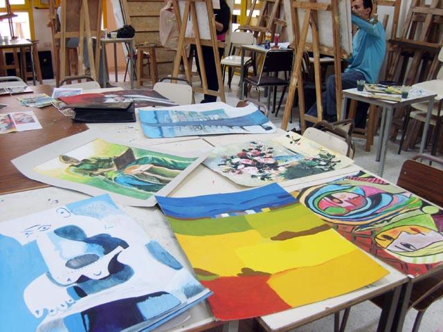 Peinture السنوات الثانية - 2007-2008 (isamk) Xl801716