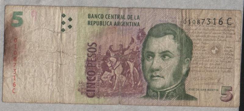 5 Pesos Argentinos Argent10