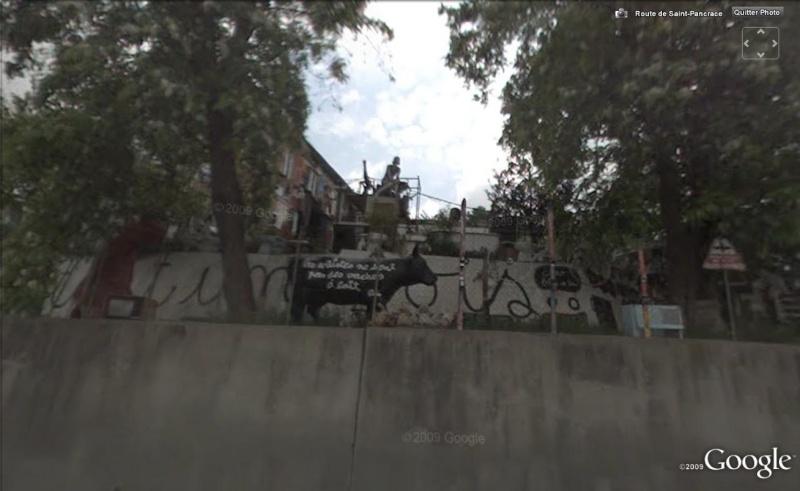 STREET VIEW : Ben Vautier, maison un peu encombrée !! Nice, France Ben110