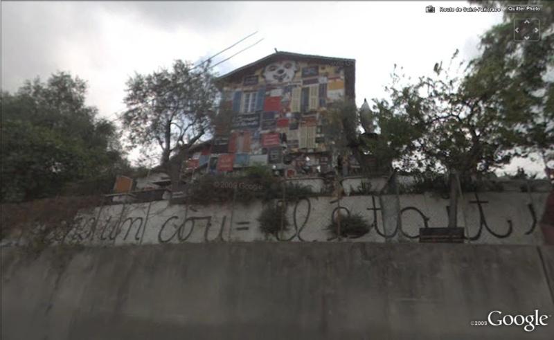 STREET VIEW : Ben Vautier, maison un peu encombrée !! Nice, France Ben210