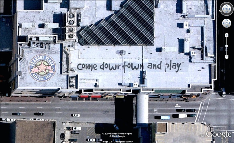 """Ecriture """"come down town and play"""" à Menphis, Shelby, Tennessee Come10"""
