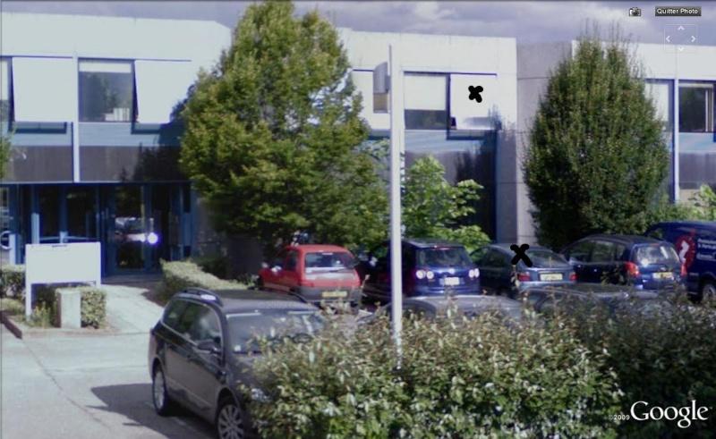 STREET VIEW : ma voiture, Archamps, Haute-Savoie, France Megane10
