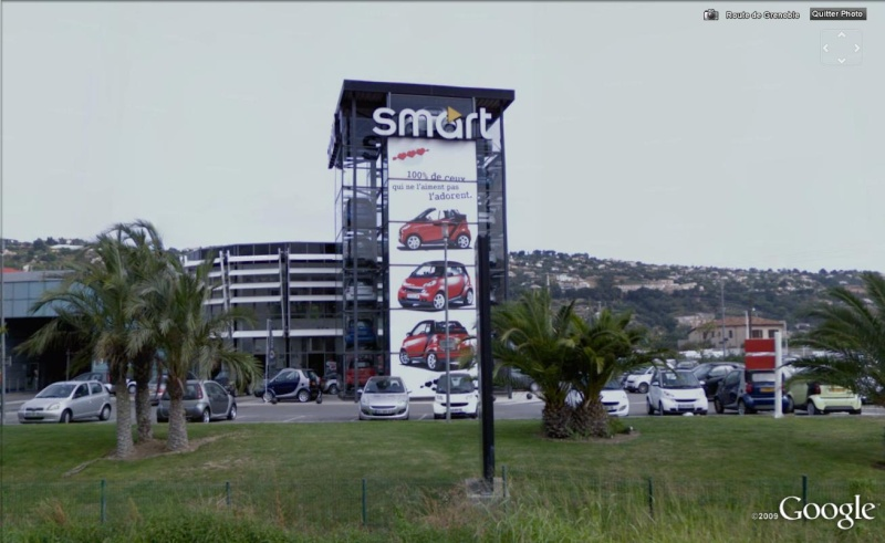 STREET VIEW : Une tour de Smart Smart10