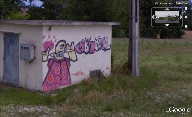 STREET VIEW : les fresques murales en France - Page 3 Tag10
