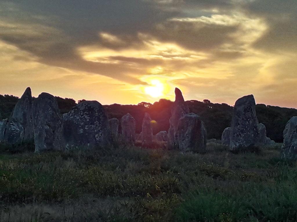Couché de soleil sur les Menhir ! 20200910