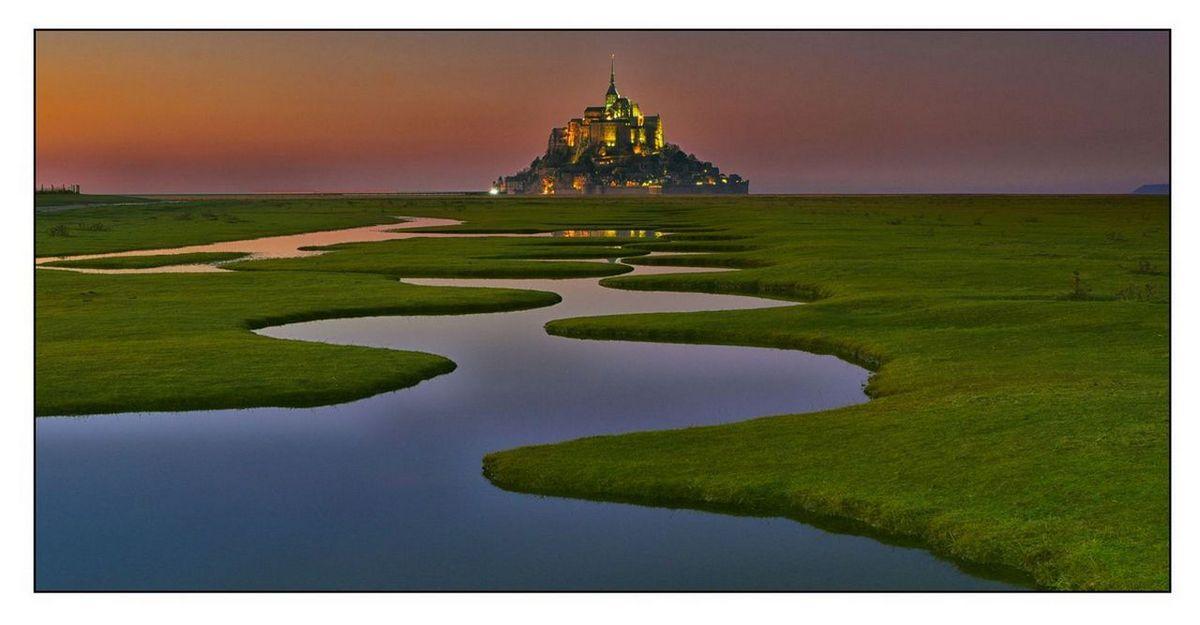 Le mont Saint Michel 3kl611