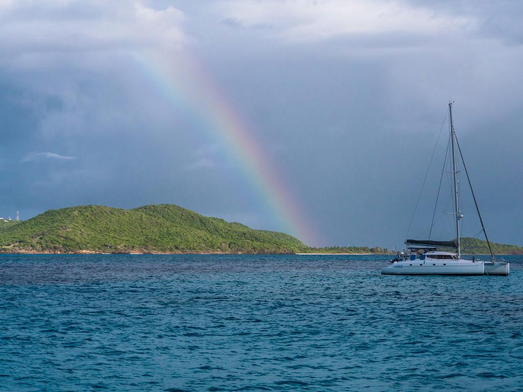 Rainbow over the Cays... 44134710