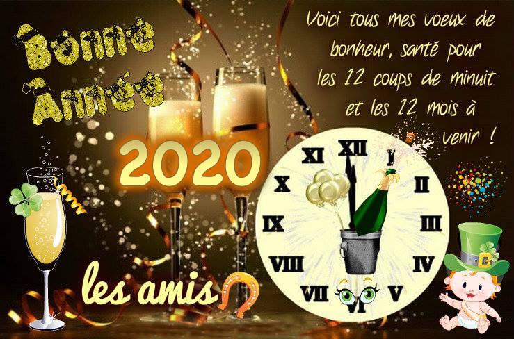 Nouvelle année 2020 Bonne-10