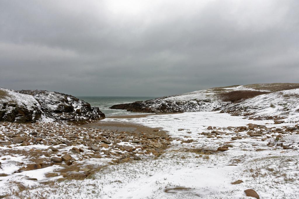 Il a neigé sur Port Kerné pour de vrai ! Dsc_2420