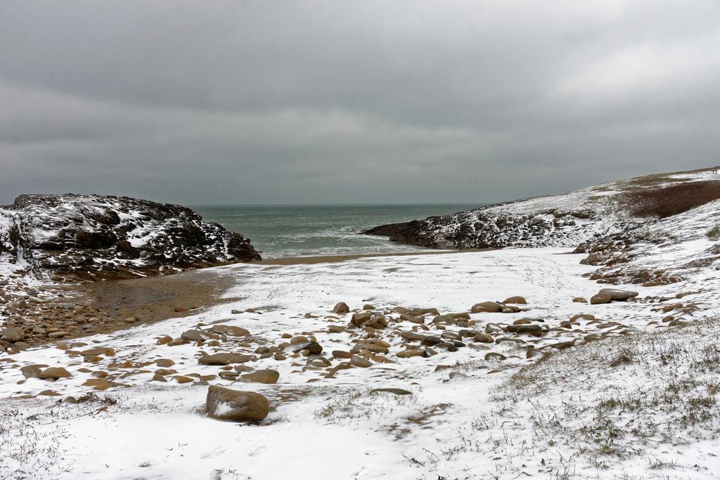Il a neigé sur Port Kerné pour de vrai ! Dsc_2421