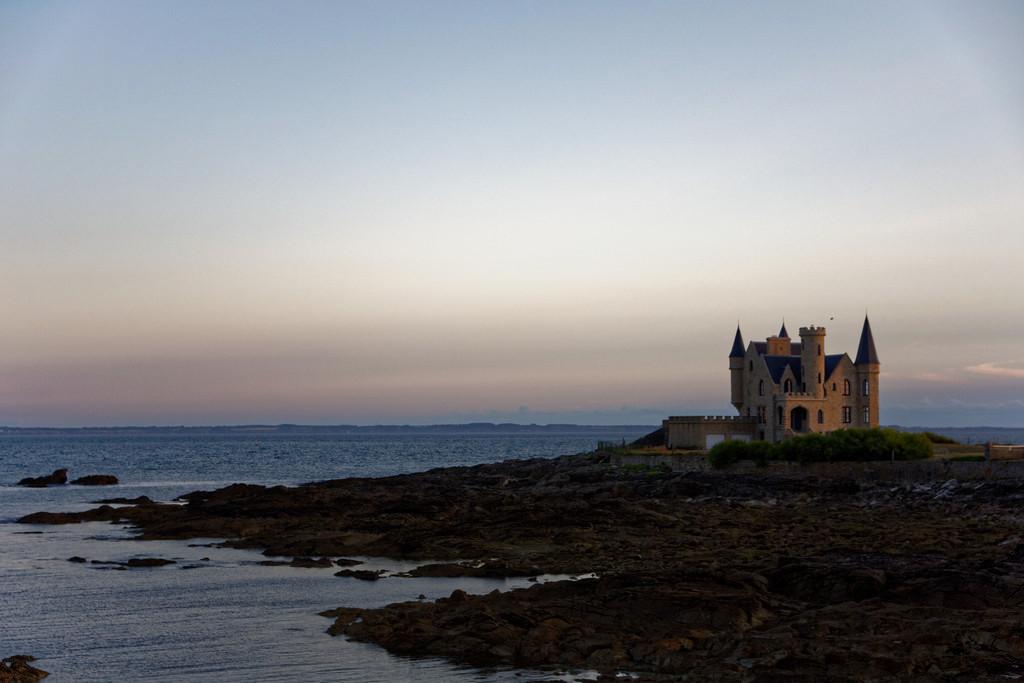 """Chateau """"Turpault"""" au crépuscule ! Dsc_3616"""