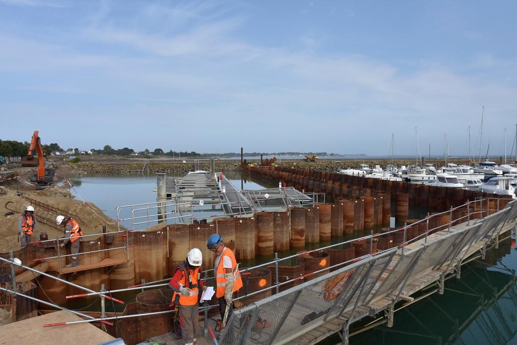 Chantier Port Haliguen Quiberon  2018 + 2019 ! - Page 3 Dsc_4124
