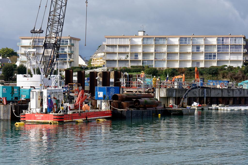 Chantier Port Haliguen Quiberon  2018 + 2019 ! - Page 5 Dsc_5414
