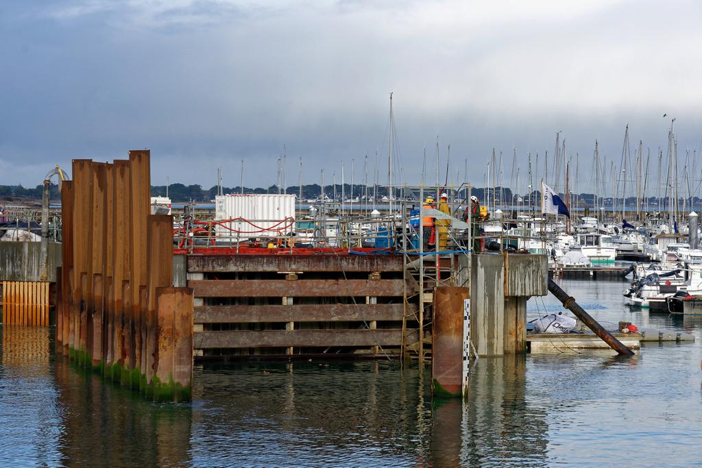 Chantier Port Haliguen Quiberon  2018 + 2019 ! - Page 5 Dsc_5415