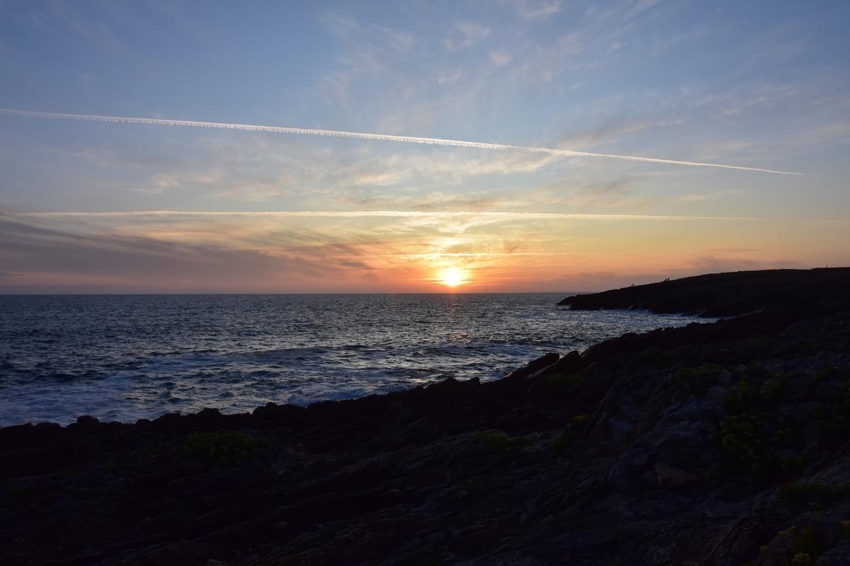 Couché de soleil sur la Côte Sauvage Dsc_6610