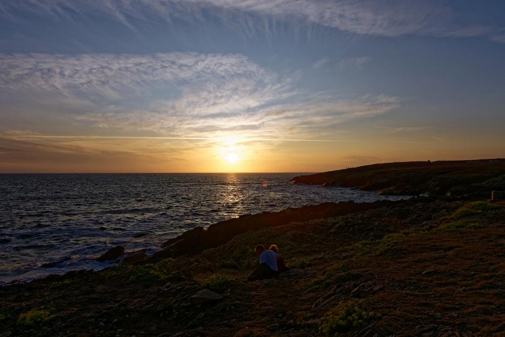 Couché de soleil sur la Côte Sauvage Dsc_6611