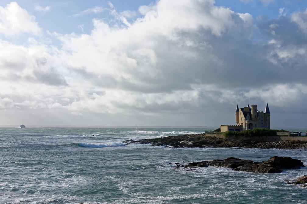 """Pas nouveau mais toujours photogénique ce chateau de ma """"mer"""" ! Dsc_7217"""