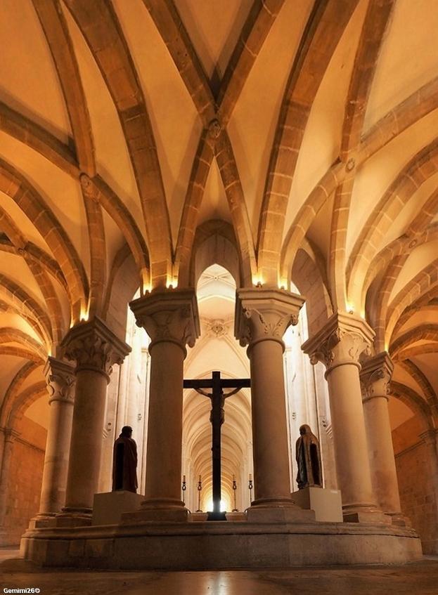 Monastère Alcobaça Portugal P5310210