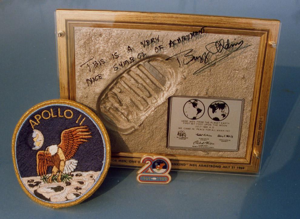 Apollo 11 - Objets anniversaire Aldrin11