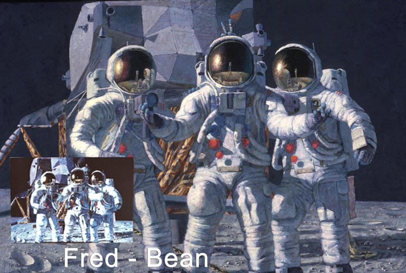 Peintures d'Alan Bean Fred10
